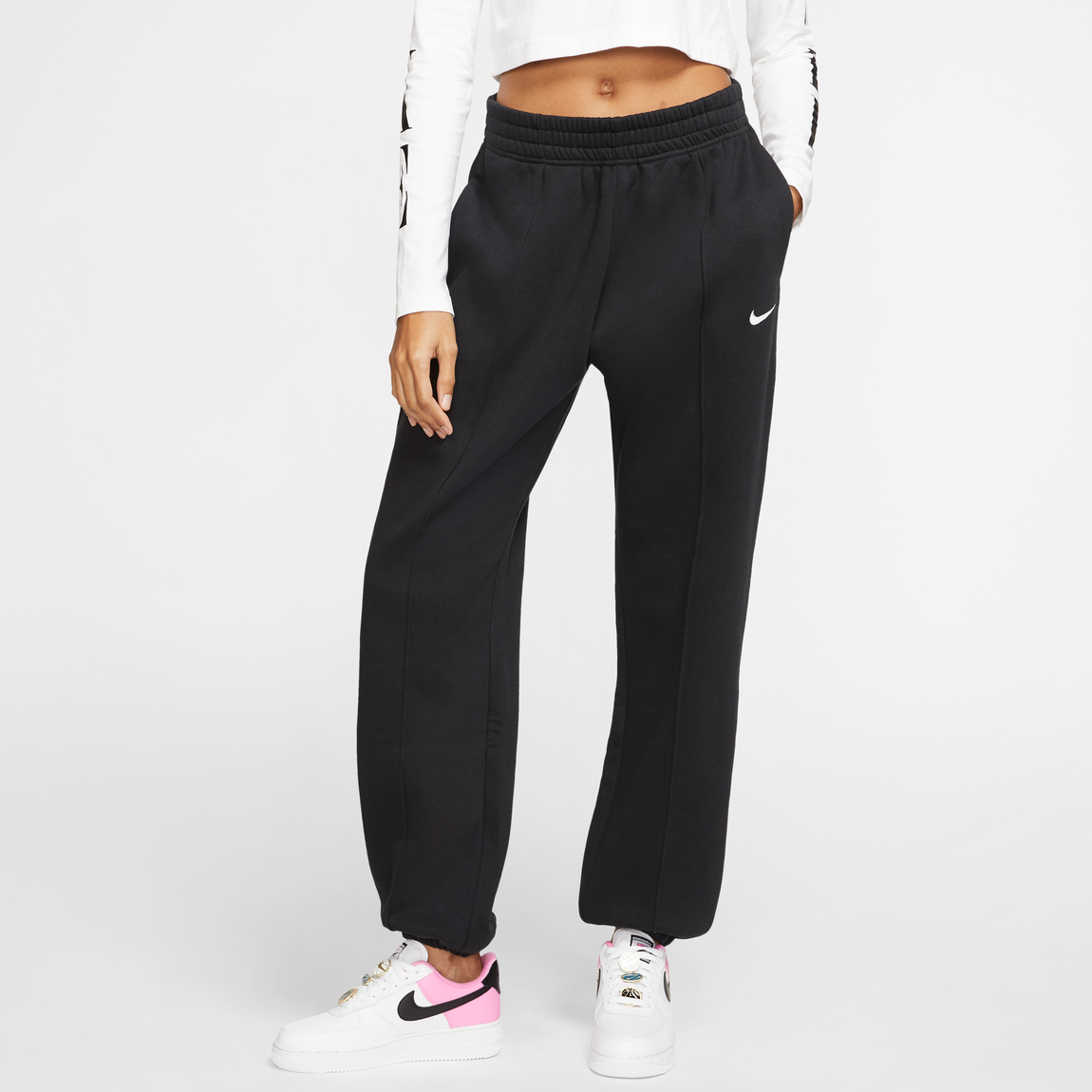Nike Sportswear Women's Essential Pants (Black/Black) - Nike Sportswear Women's Essential Pants (Black/Black) -