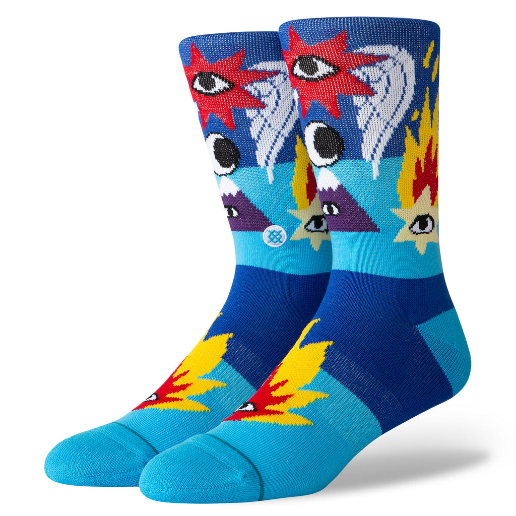 Stance X Cavolo Shooting Star (Blue)