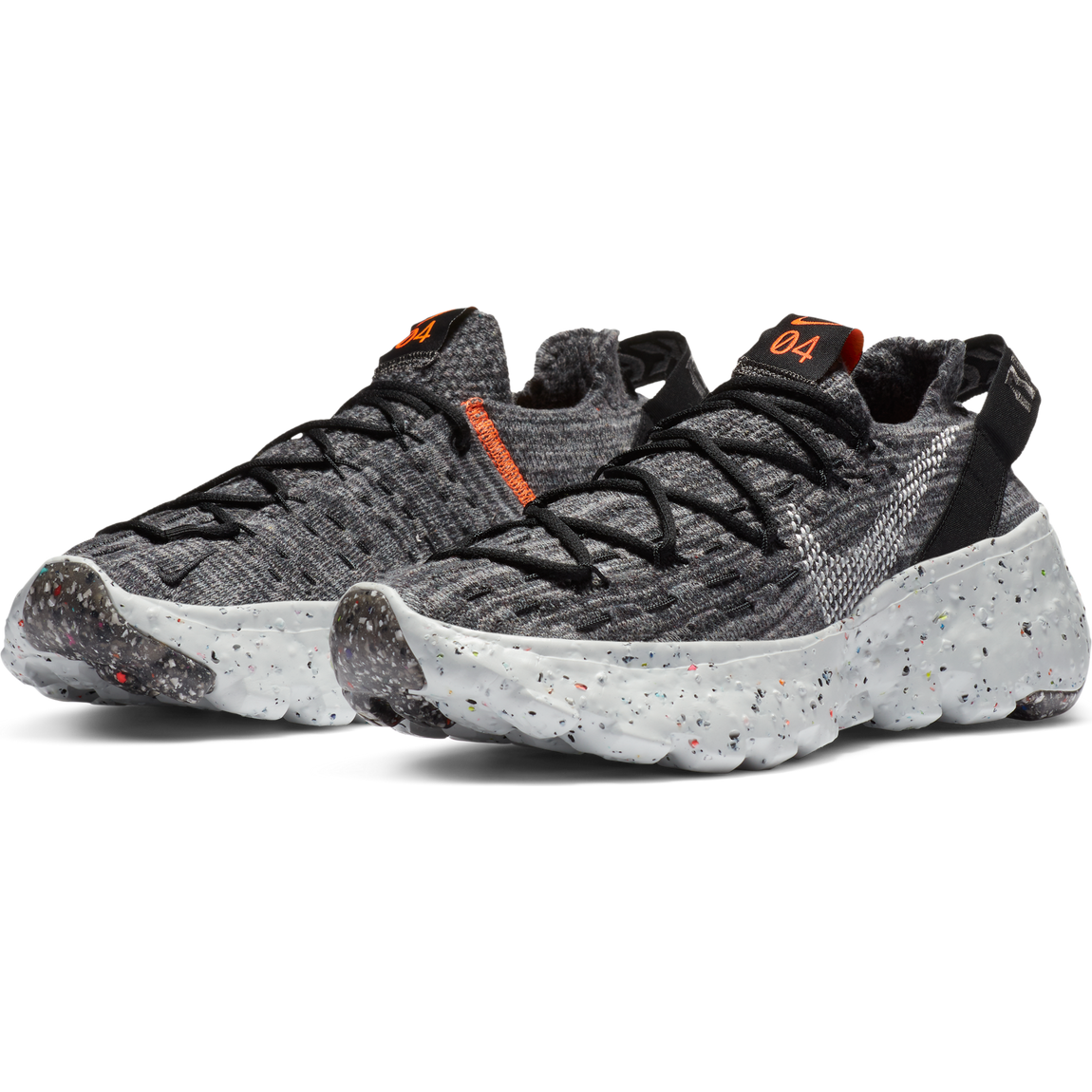 Nike Women's Space Hippie 04 (Iron Grey/Photon Dust-Black) - Nike Women's Space Hippie 04 (Iron Grey/Photon Dust-Black) -