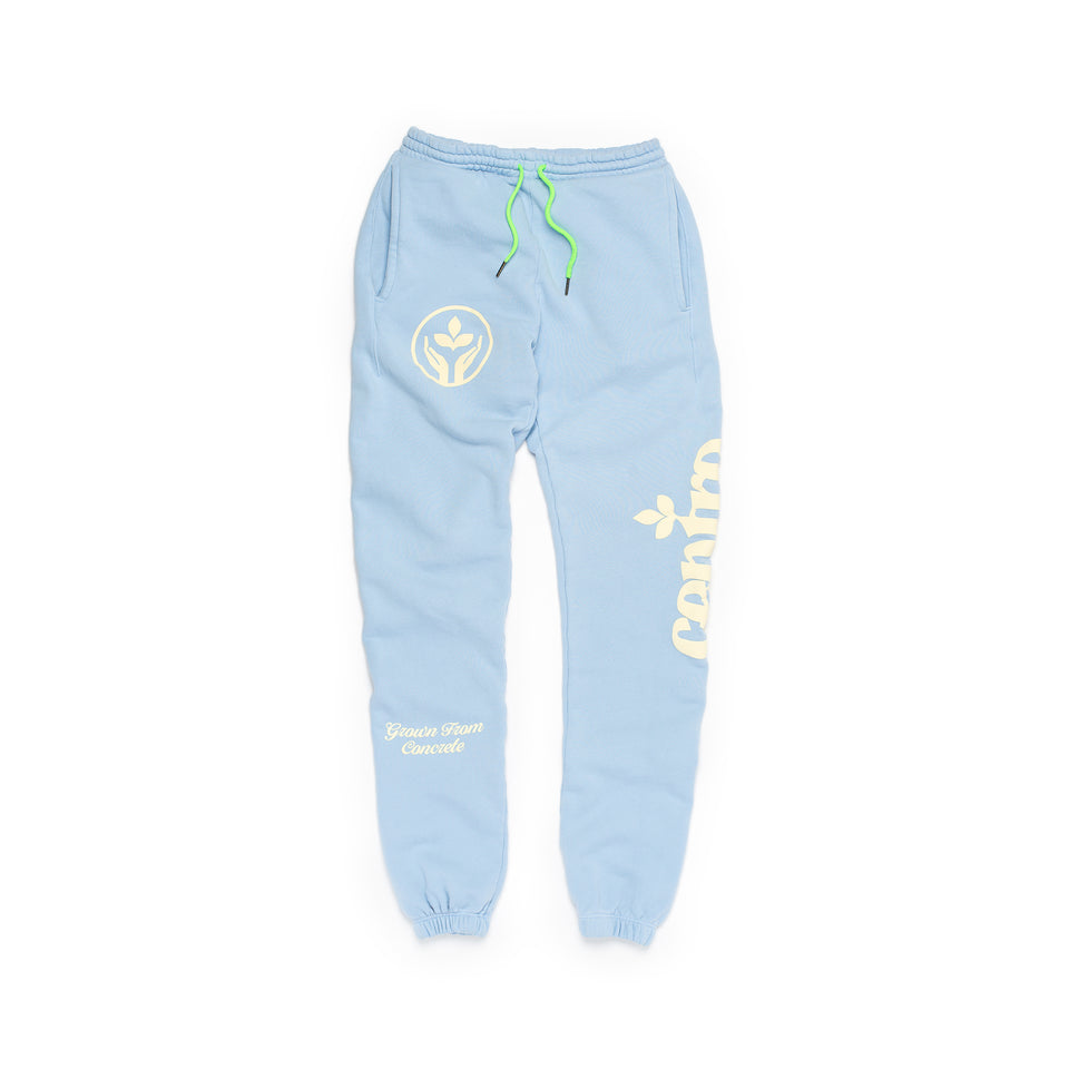 Centre Homegrown Fleece Pants (Cerulean) - Centre - Bottoms