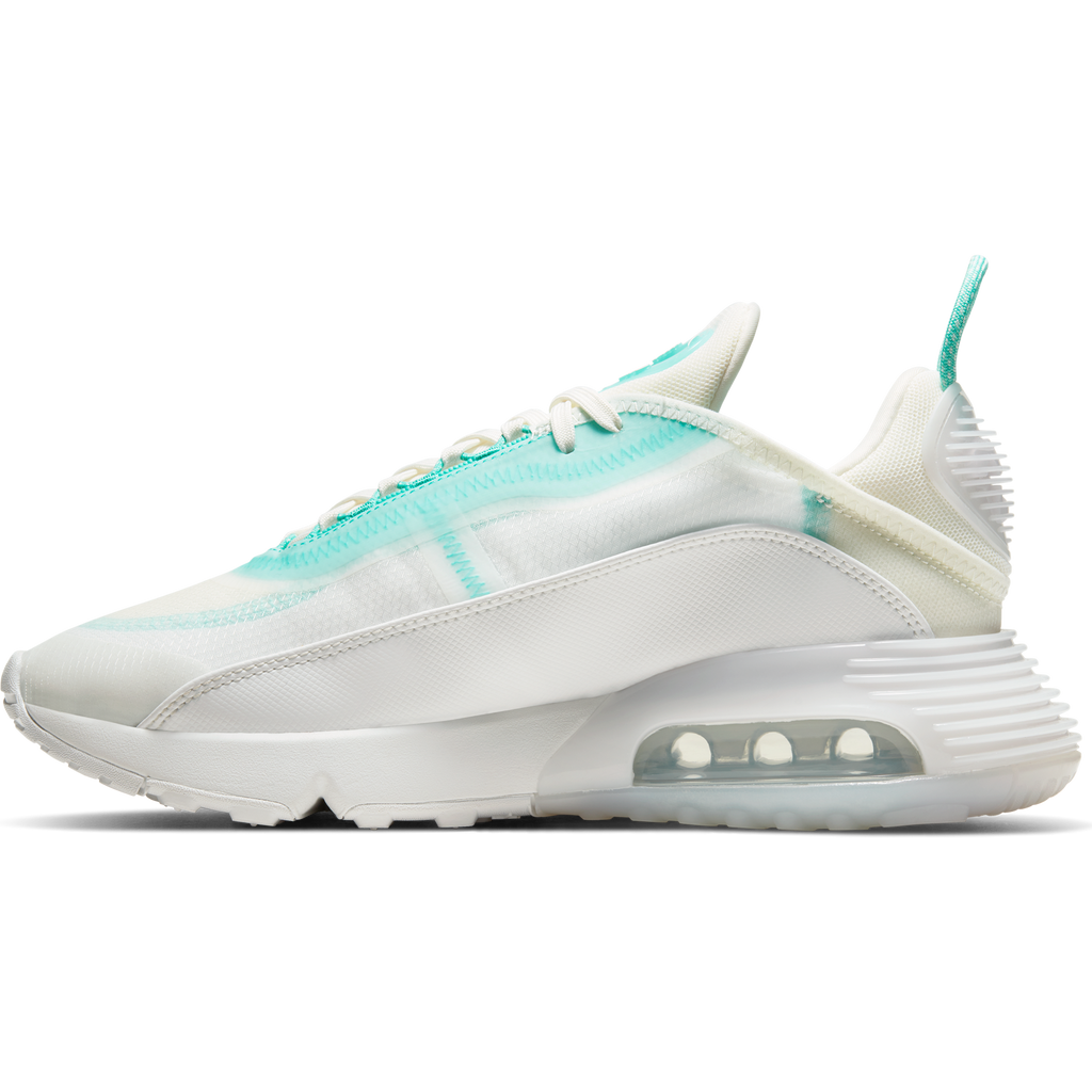 Nike Women's Air Max 2090 (Sail/Black-Aurora Green)
