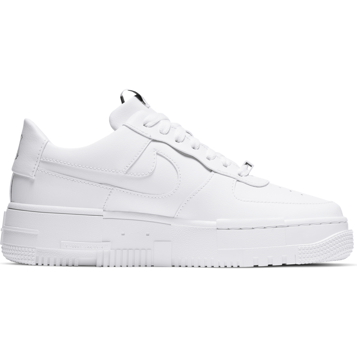 Nike Women's Air Force 1 Pixel (White/White) - Nike Women's Air Force 1 Pixel (White/White) -