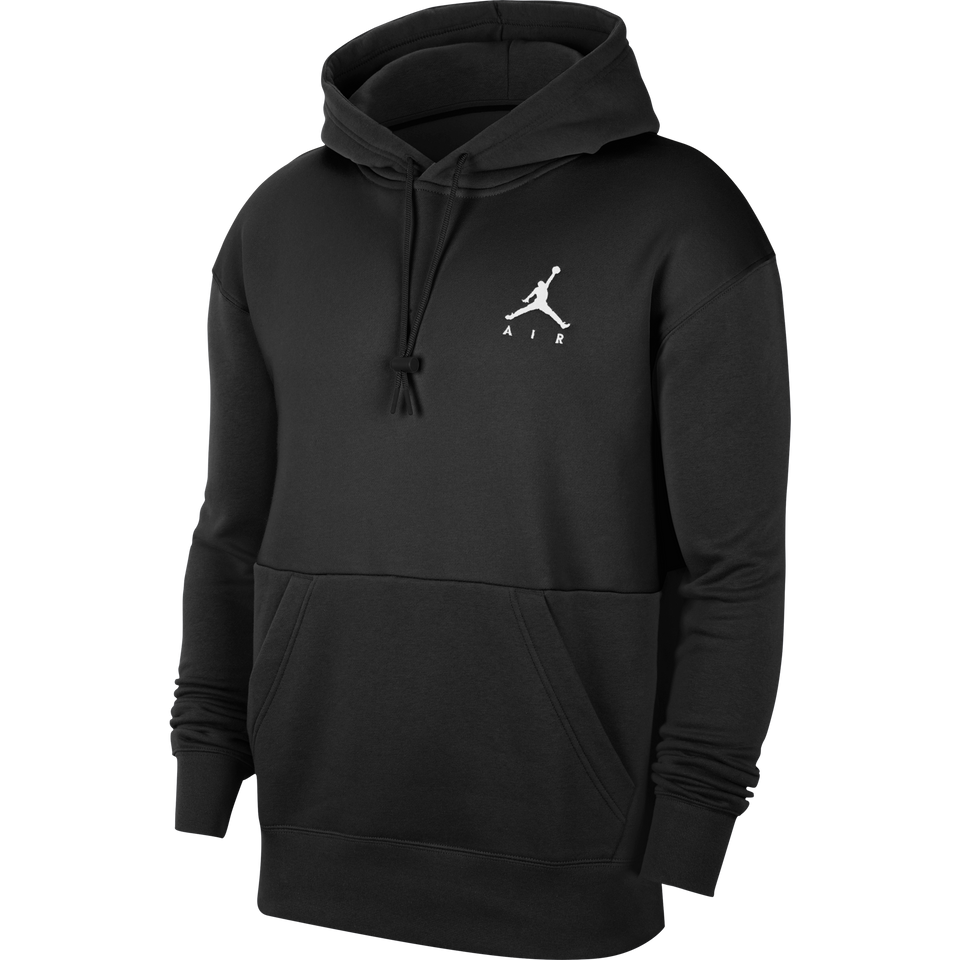 Jordan Jumpman Air Hoodie (Black/White) - Jordan