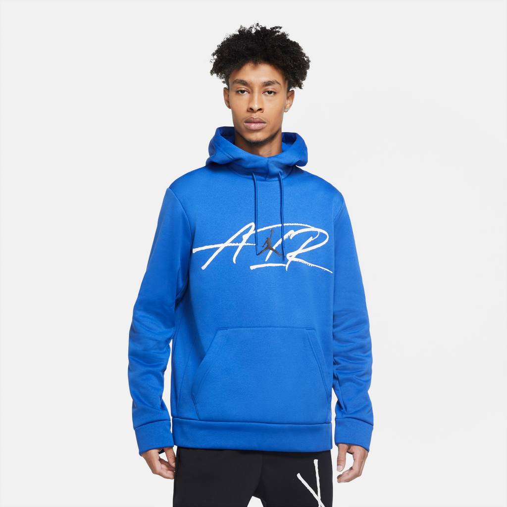 Air Jordan Therma Hoodie (Game Royal/White)