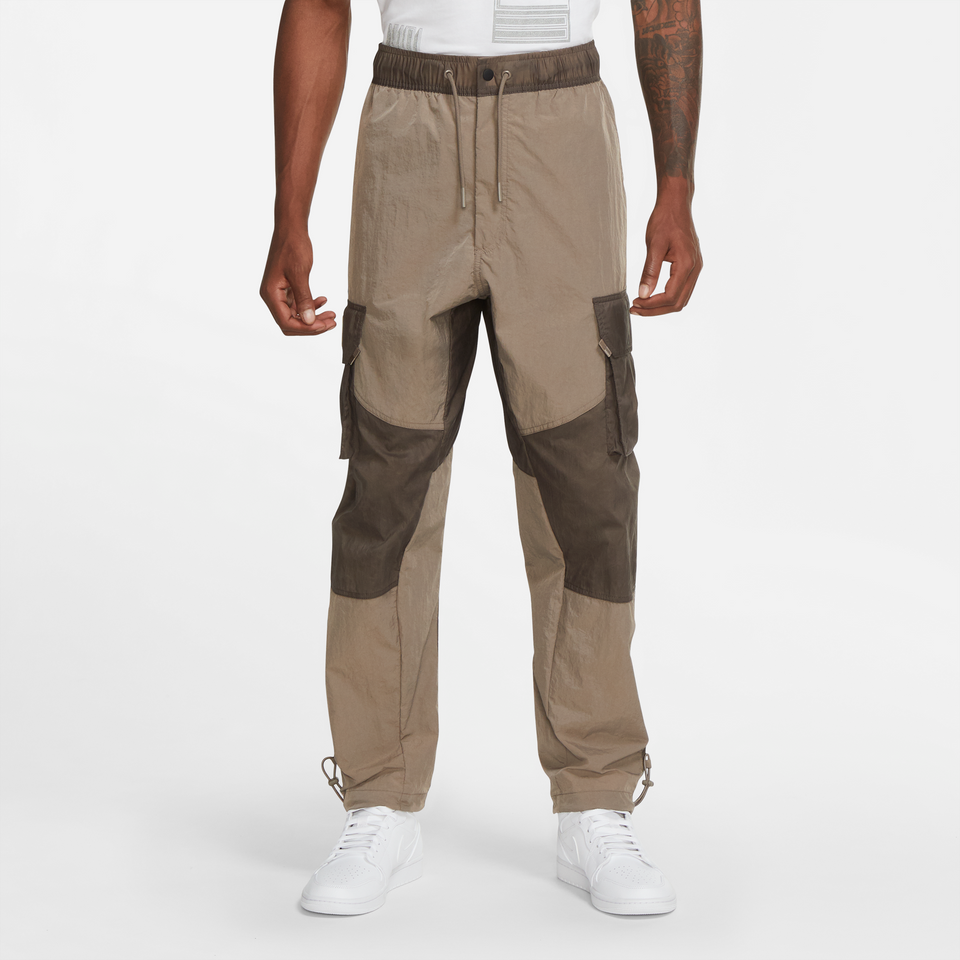 Jordan 23 Engineered Pants (Olive Grey/White) - Jordan