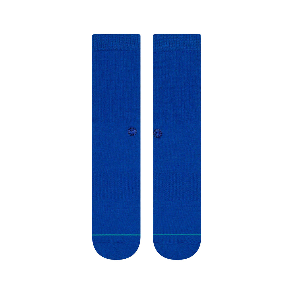 Stance Icon Socks (Cobalt)