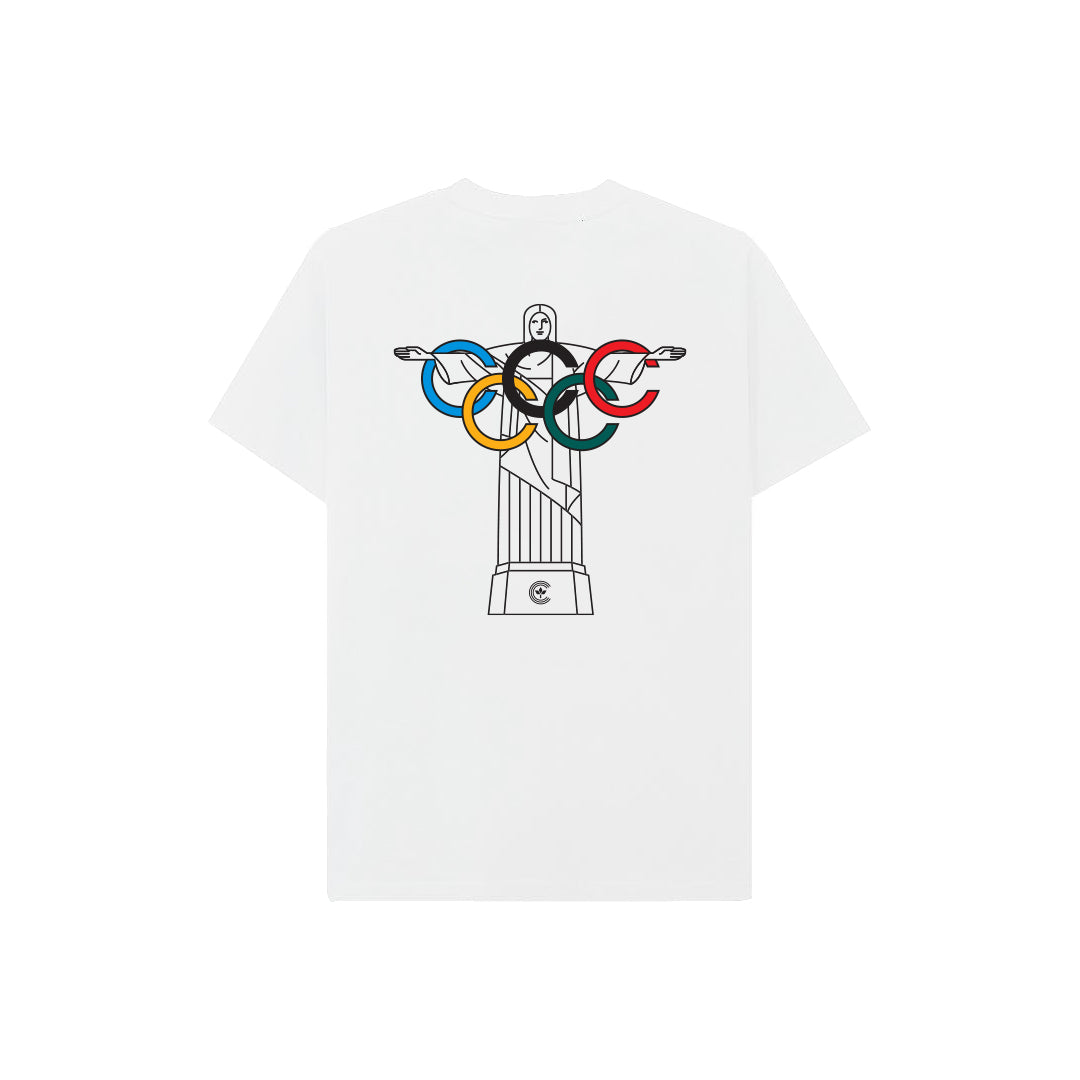 Centre Summer Games Corcovado Tee (White) - Centre Summer Games Corcovado Tee (White) -