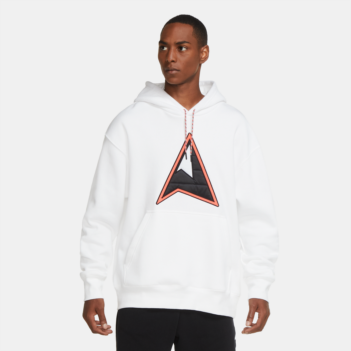 Jordan Winter Utility Hoodie (White/Black-Infrared) - Jordan Winter Utility Hoodie (White/Black-Infrared) -