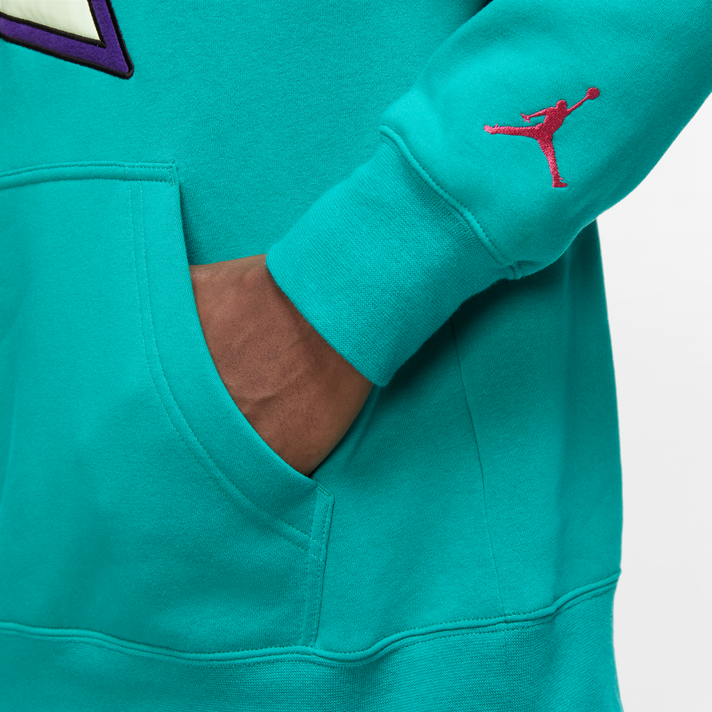 Jordan Winter Utility Hoodie (Neptune Green/Watermelon)