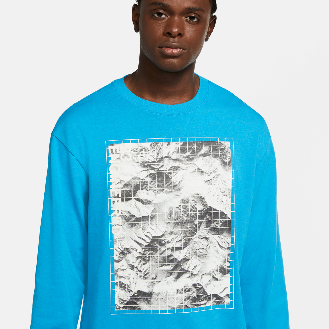 Jordan 23 Engineered LS Tee (Laser Blue) - Jordan 23 Engineered LS Tee (Laser Blue) -