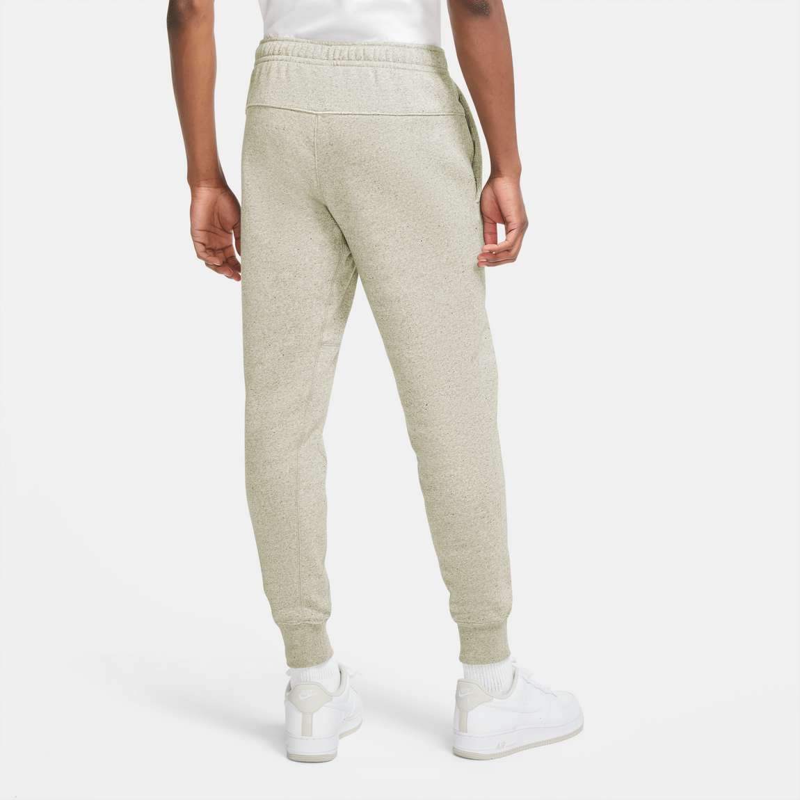 Nike Sportswear Fleece Pants (Sand/Multicolor) - Nike Sportswear Fleece Pants (Sand/Multicolor) -