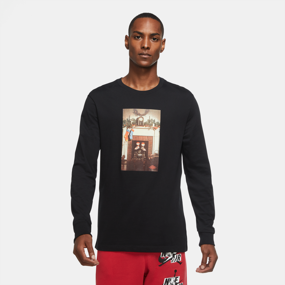 Air Jordan Jumpman Chimney LS Tee (Black) - Jordan