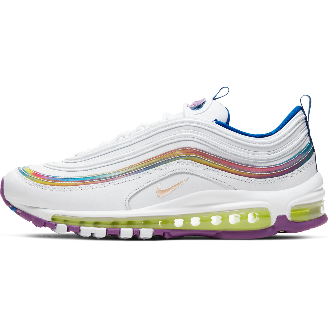 Nike Women's Air Max 97 SE (White/Washed Coral) - Nike Women's Air Max 97 SE (White/Washed Coral) -