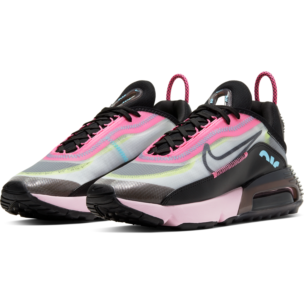 Nike Women's Air Max 2090 (White/Black-Pink Foam)