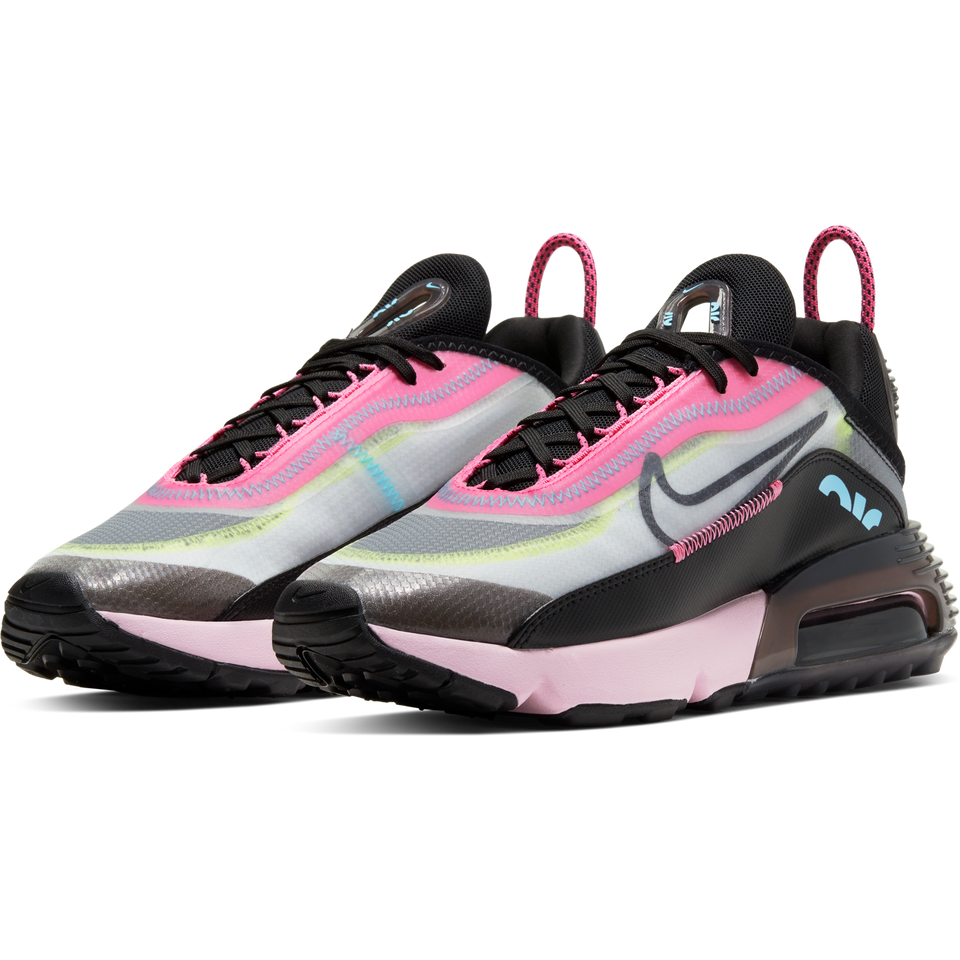 Nike Women's Air Max 2090 (White/Black-Pink Foam) - Women