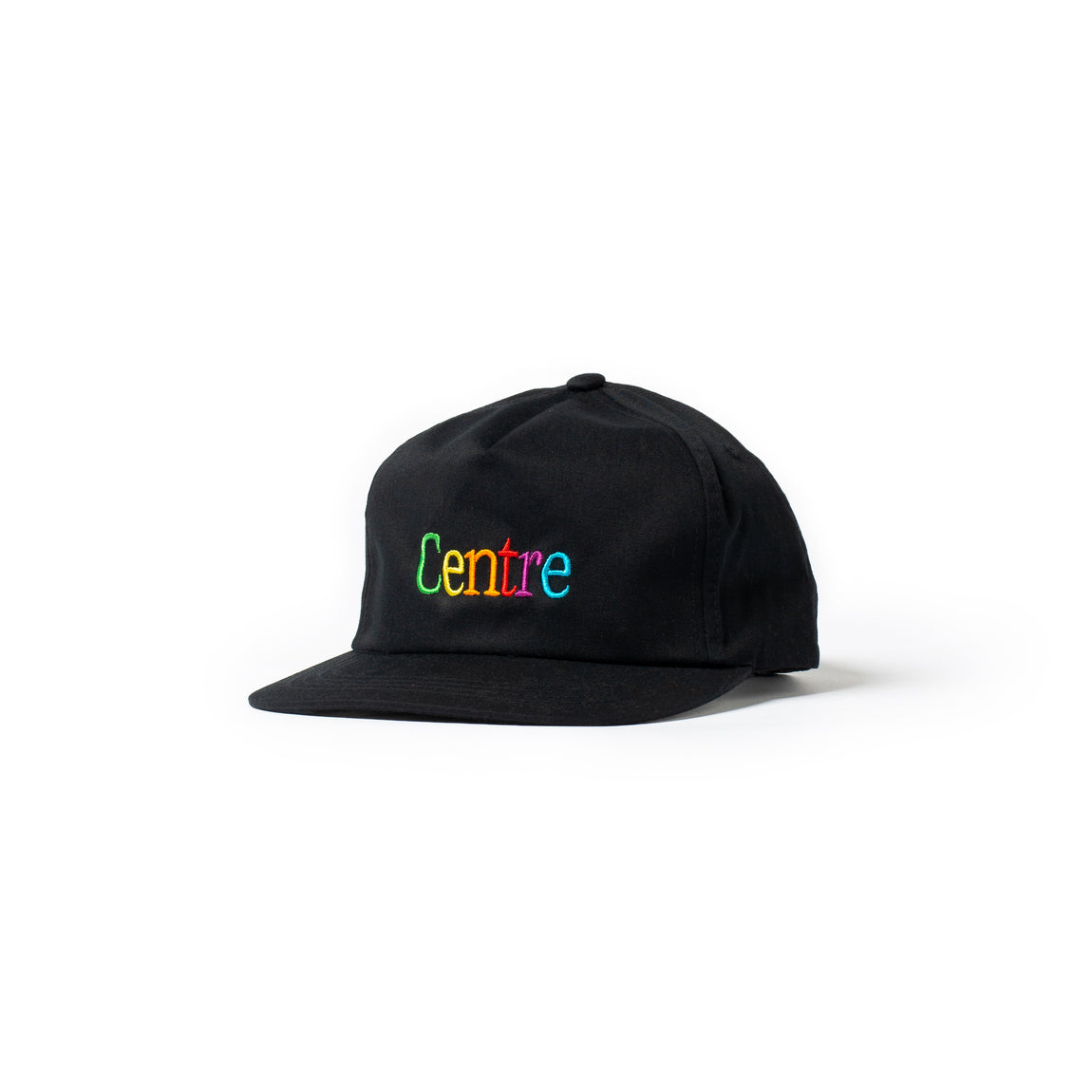 Centre Cyber Unstructured Snapback Hat (Black) - Centre Cyber Unstructured Snapback Hat (Black) -