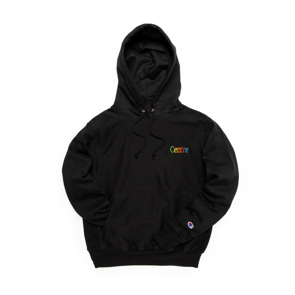 Centre Cyber Heavyweight Hoodie (Black) - Centre Cyber Heavyweight Hoodie (Black) -