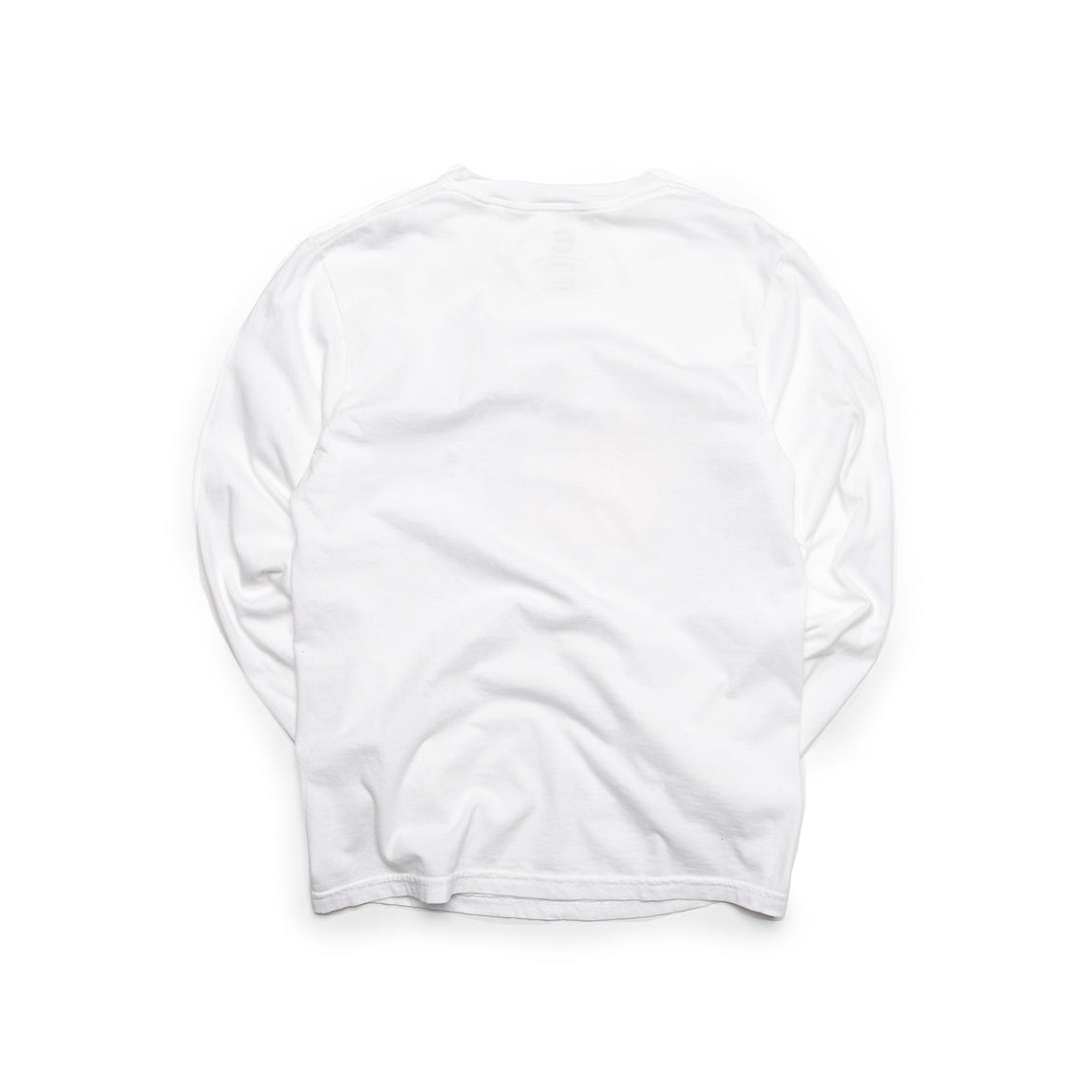 Centre Cyber Long Sleeve Tee (White) - Centre Cyber Long Sleeve Tee (White) -