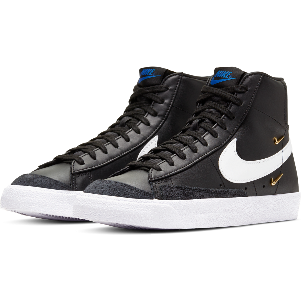 Nike Women's Blazer Mid '77 SE (Black/White-Hyper Royal)