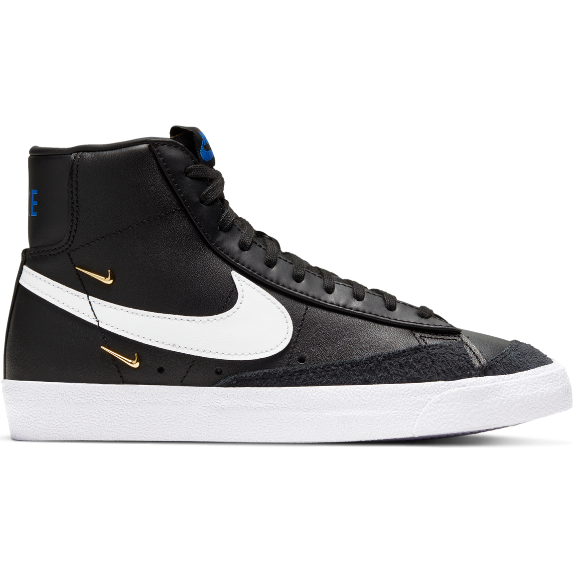 Nike Women's Blazer Mid '77 SE (Black/White-Hyper Royal) - Nike Women's Blazer Mid '77 SE (Black/White-Hyper Royal) -