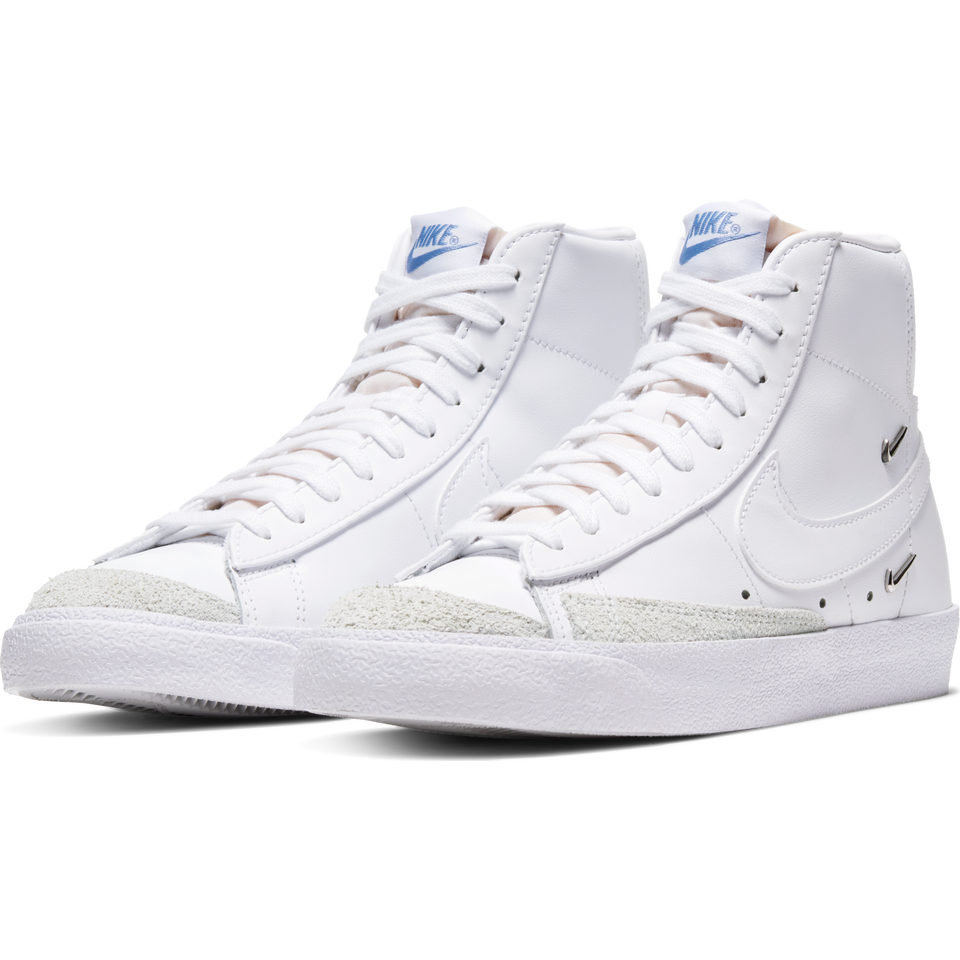 Nike Women's Blazer Mid '77 SE (White/White-Hyper Royal) - Women