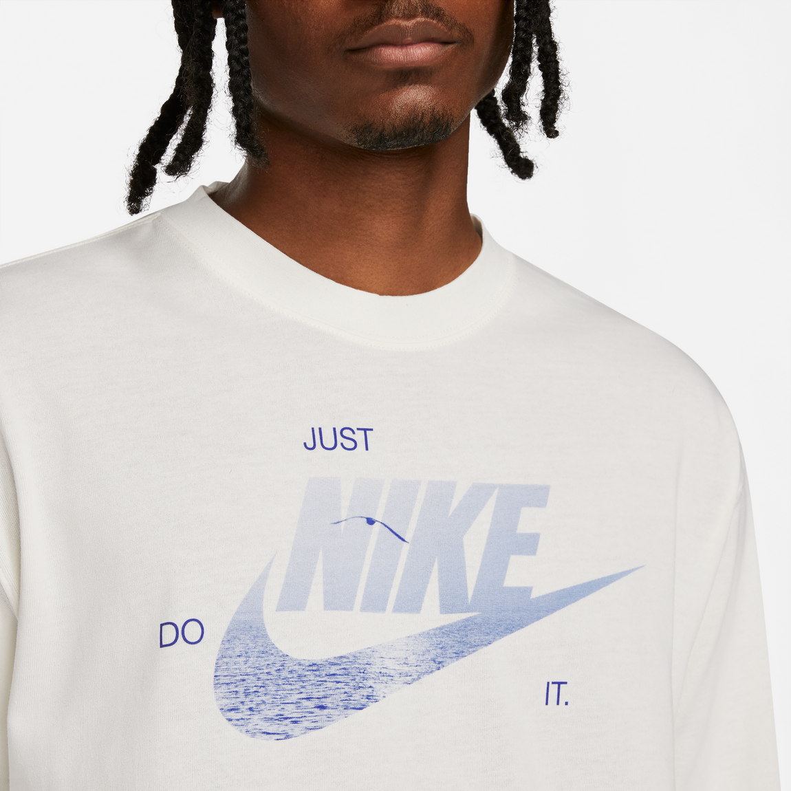 Nike Sportswear Max 90 Graphic Long Sleeve T-Shirt (Pure) - Nike Sportswear Max 90 Graphic Long Sleeve T-Shirt (Pure) -