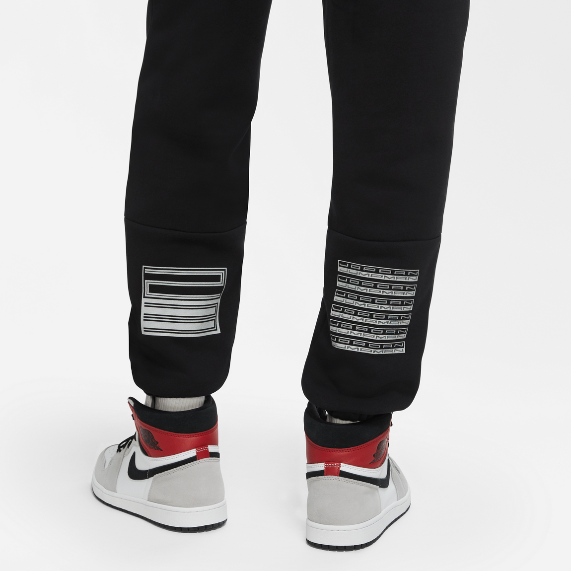 Air Jordan AJ 11 Pants (Black/Reflective Silver) - Air Jordan AJ 11 Pants (Black/Reflective Silver) -