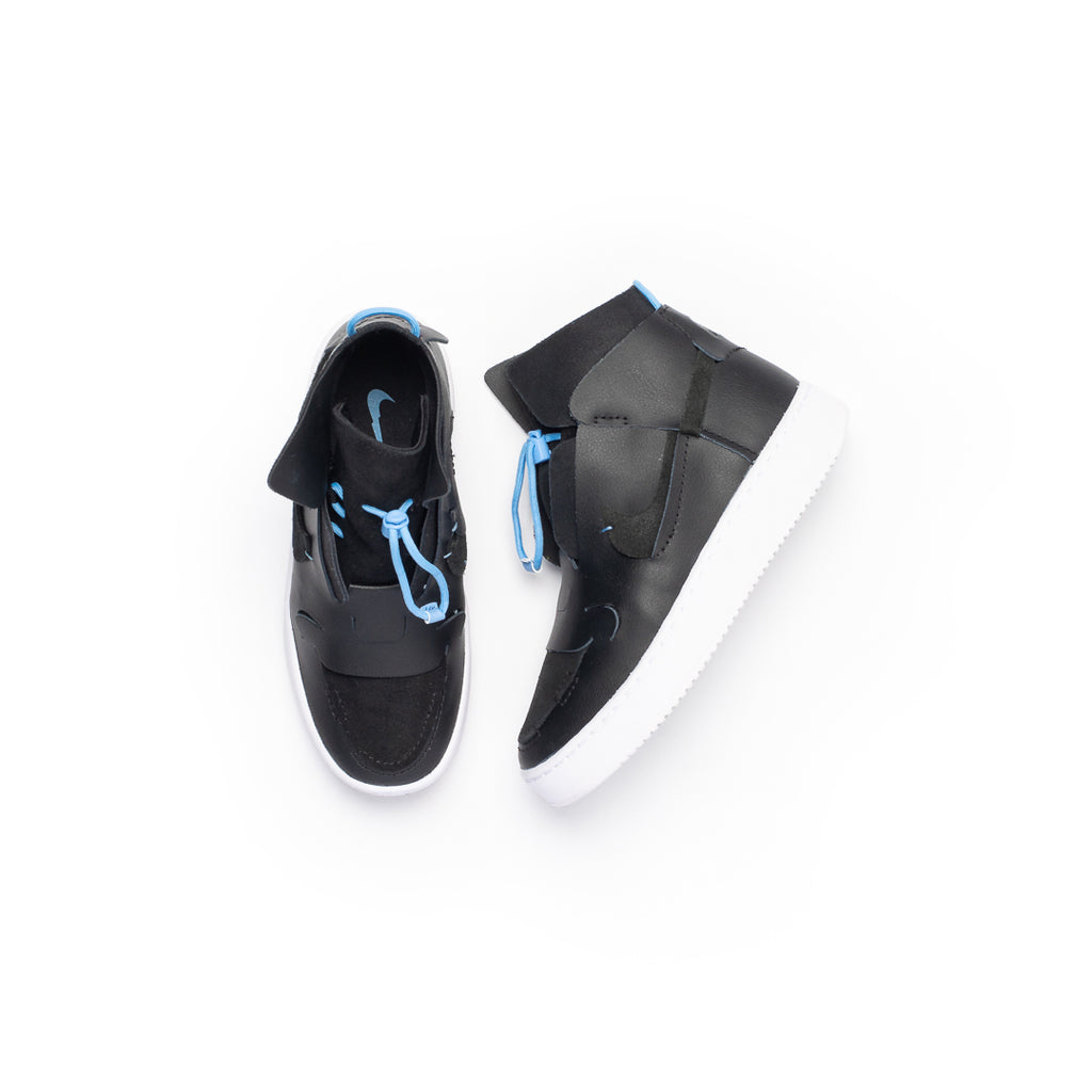Women's Nike Vandalised (Black/White-Light Blue)
