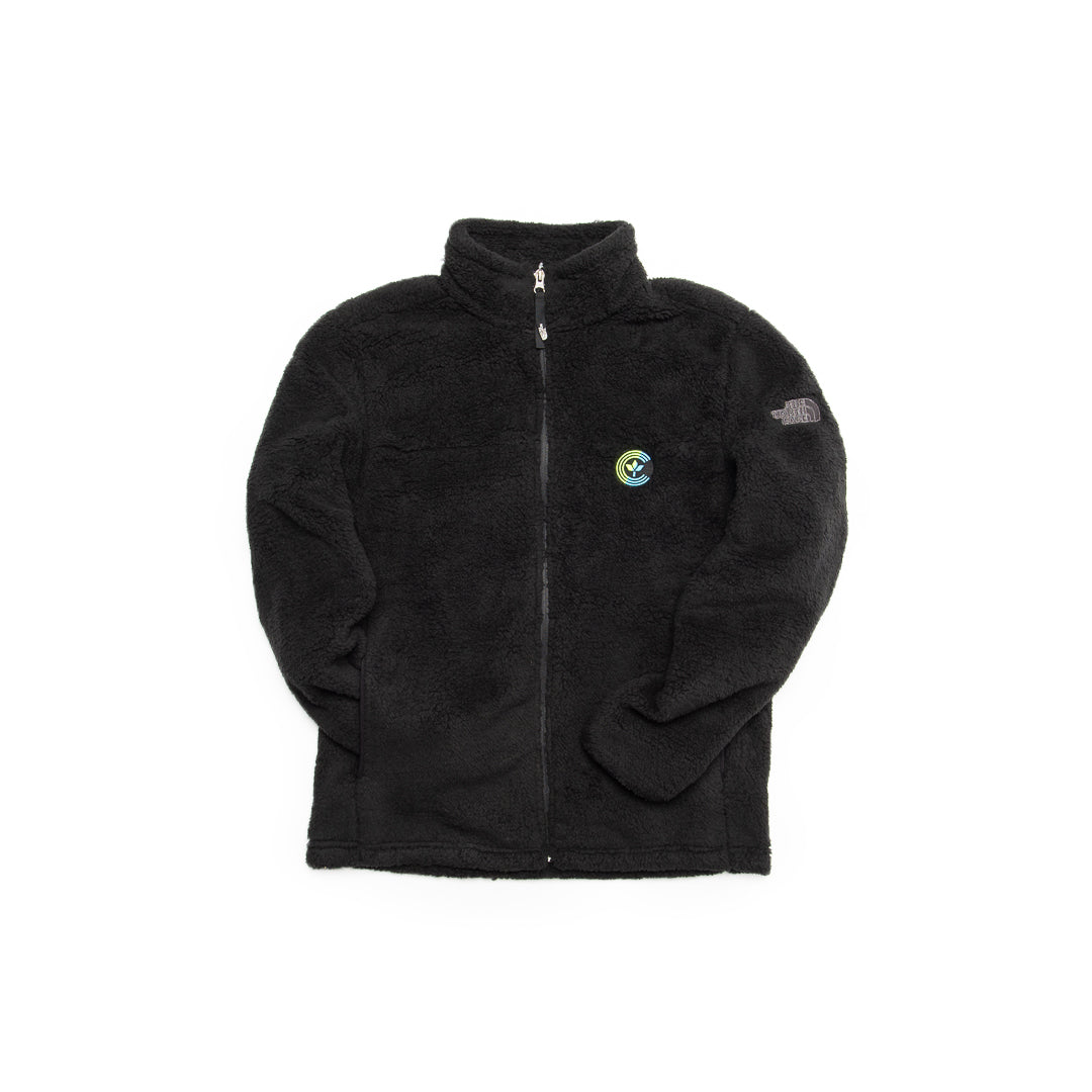 Centre X The North Face Men's High Loft Fleece Jacket (Black/Blue-Volt) - Centre X The North Face Men's High Loft Fleece Jacket (Black/Blue-Volt) -