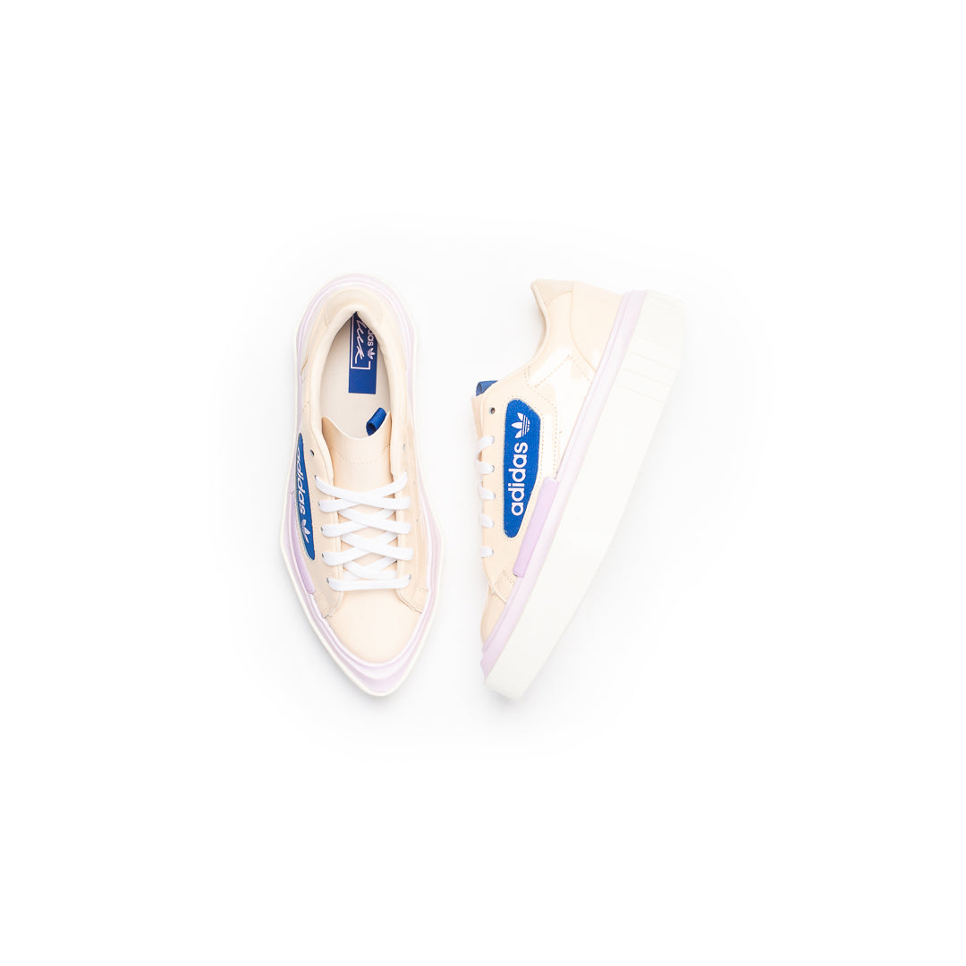 Adidas Women's Hypersleek (Linen/Off White/Yellow Tint) - Adidas Women's Hypersleek (Linen/Off White/Yellow Tint) -