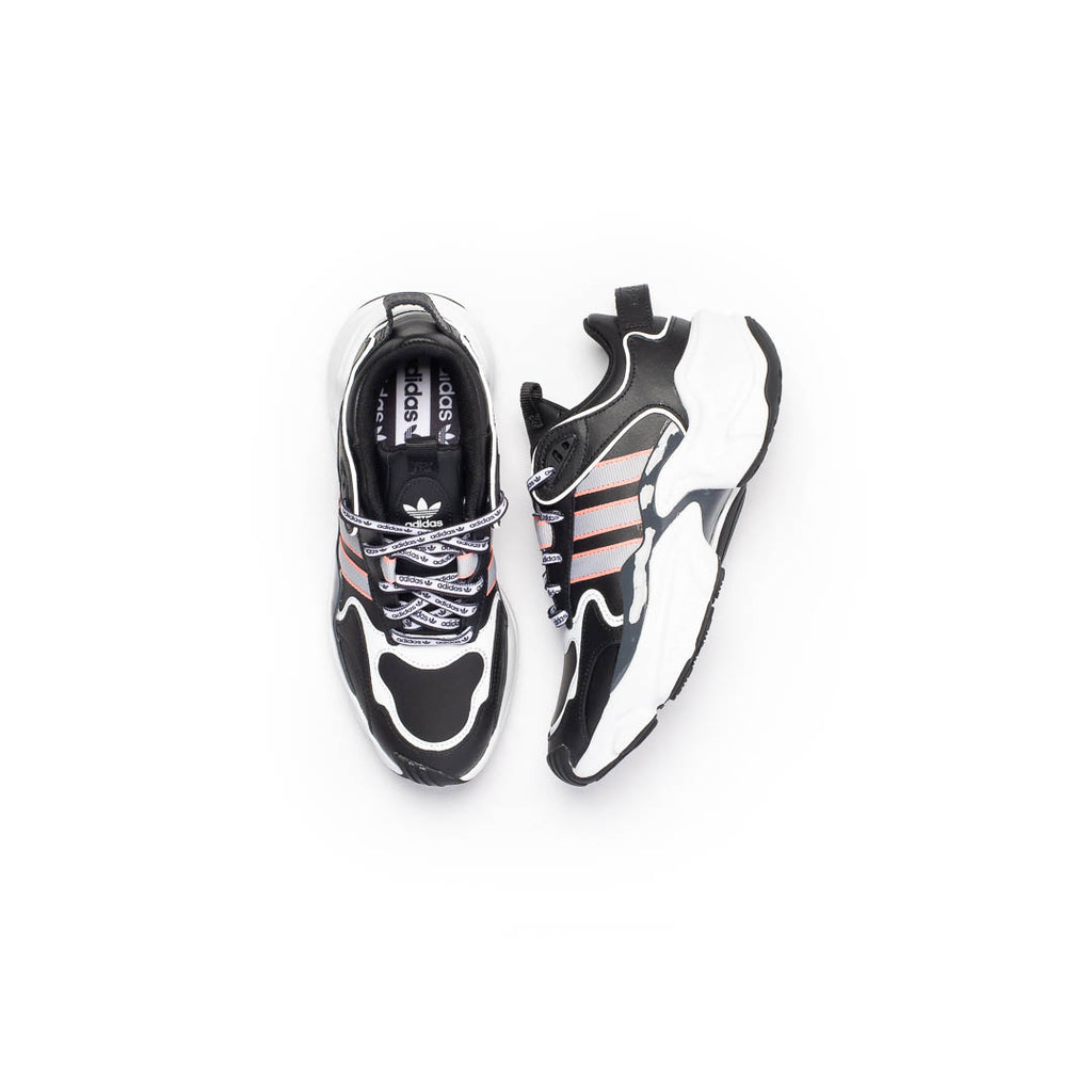 Women's Adidas Magmur Runner (Core Black/Grey Two- Glow Pink)