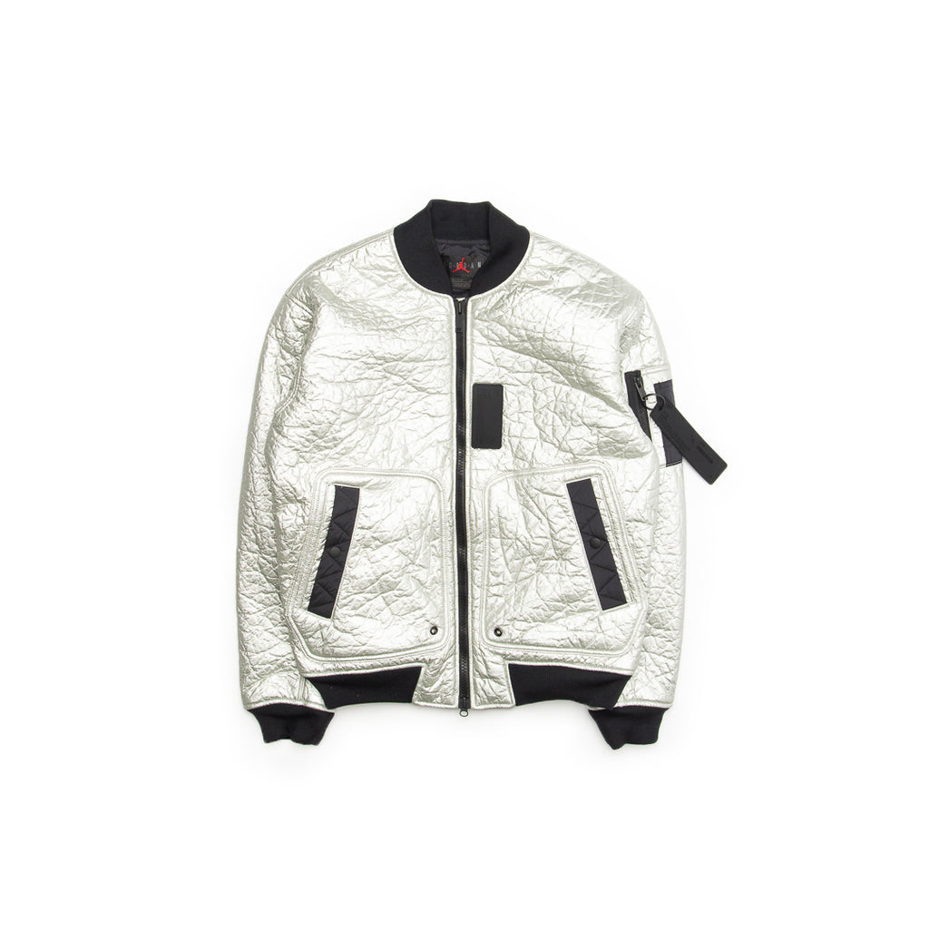 Jordan 23 Engineered MA-1 Jacket (Metallic Silver/Black-White)