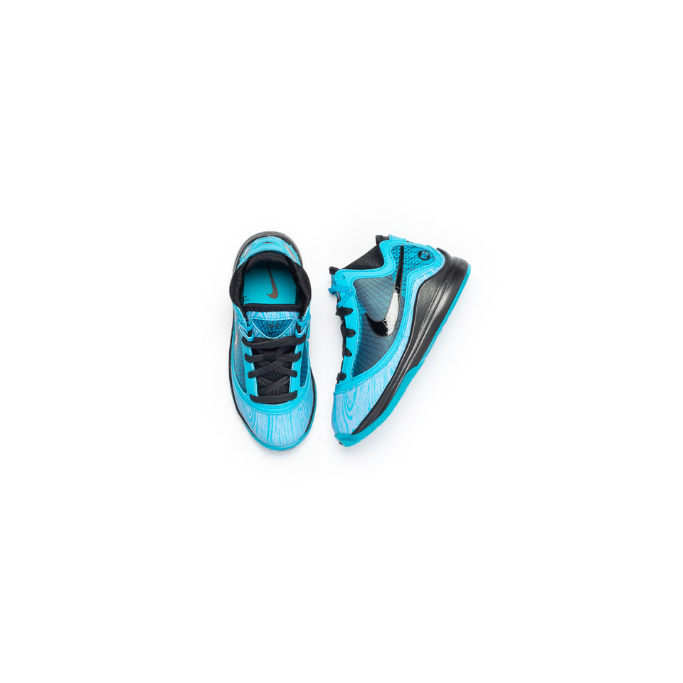 Nike Lebron VII QS (PS) (Chlorine Blue-Black) - Kids