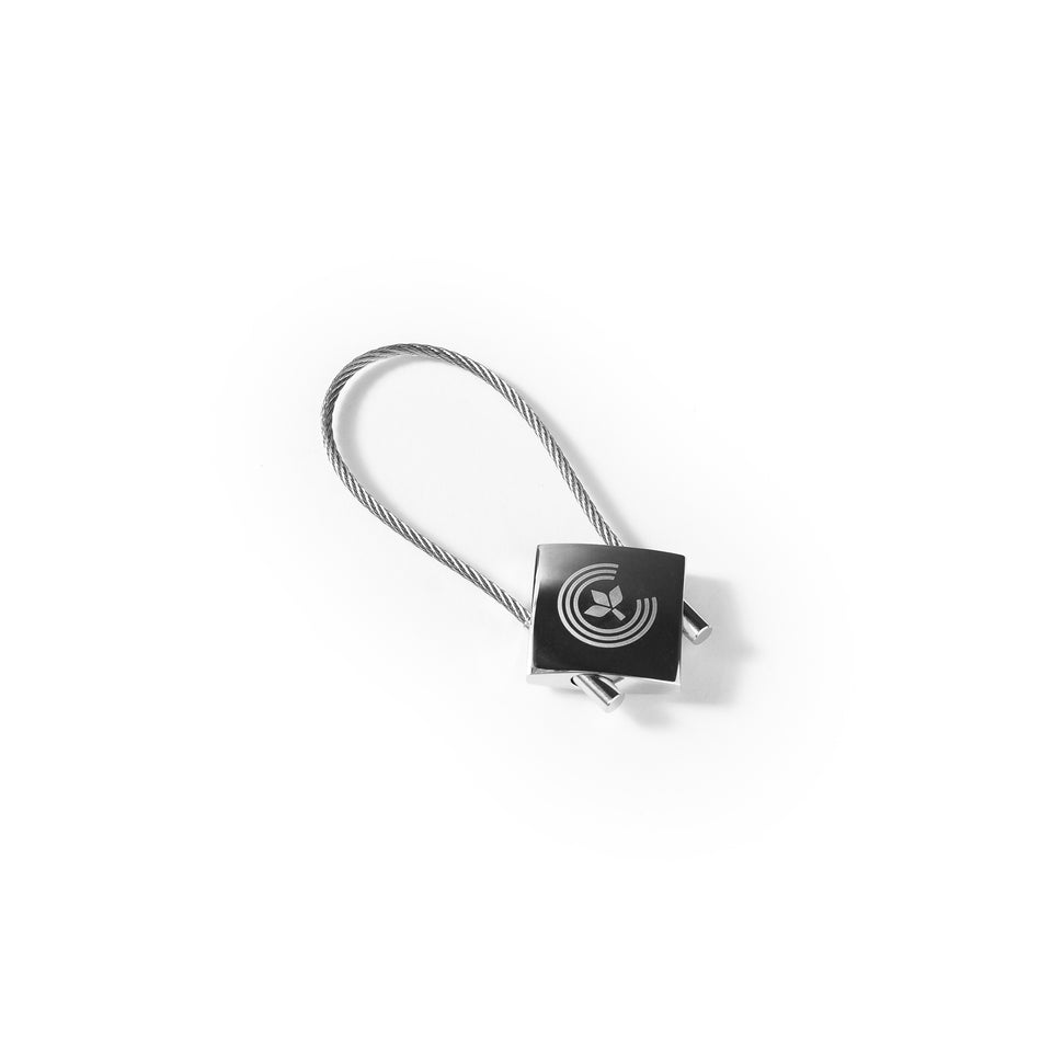Centre Chrome Laser Keychain - Centre - Accessories