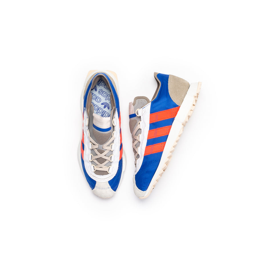 Adidas SL 7600 (Grey Two/Hi-Res Red/Royal Blue) - Adidas