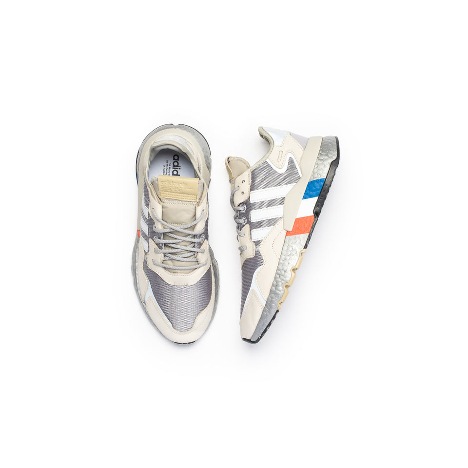 Adidas Nite Jogger (Silver Metallic/Footwear White/Aluminum) - Products
