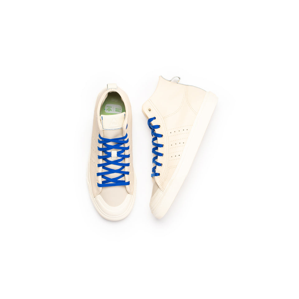 Adidas PW Nizza Hi FR (Citrin/Footwear White/Core Brown) - Adidas