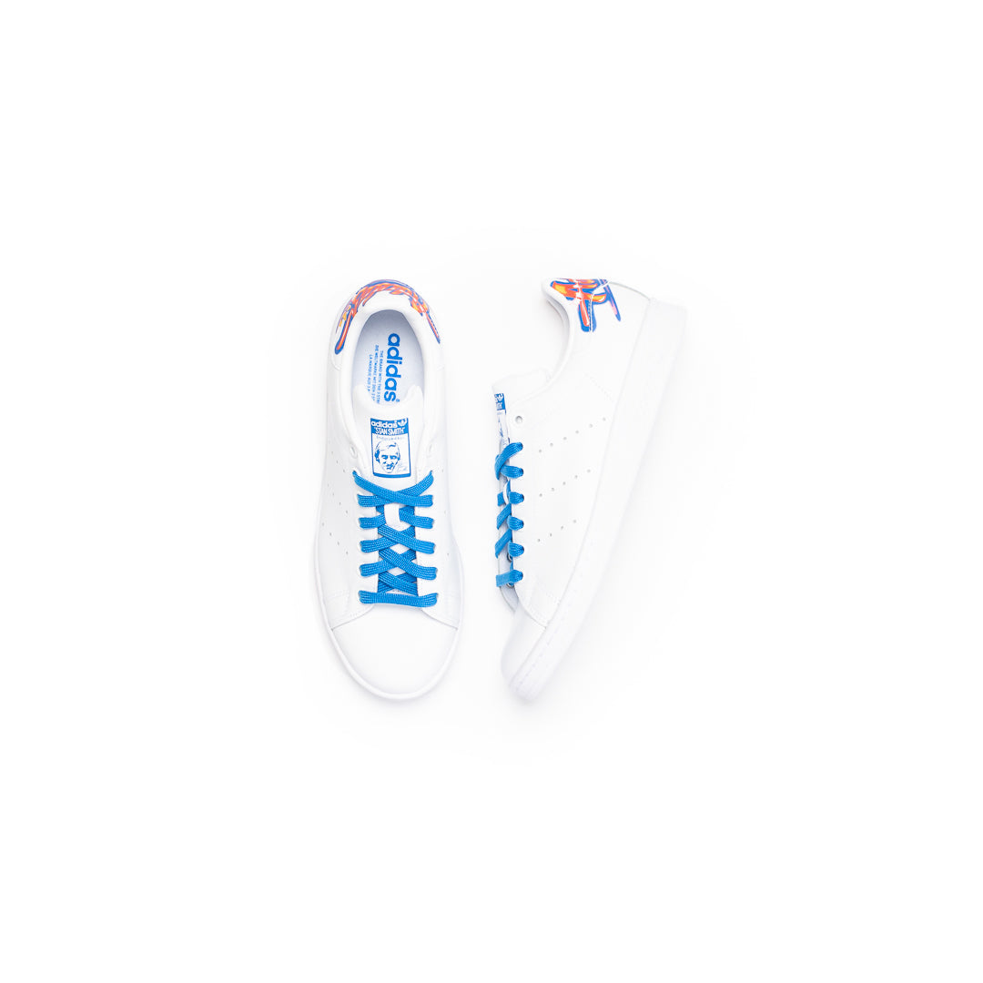 Adidas Stan Smith (Cloud White/Cloud White-Bluebird) - Adidas Stan Smith (Cloud White/Cloud White-Bluebird) -