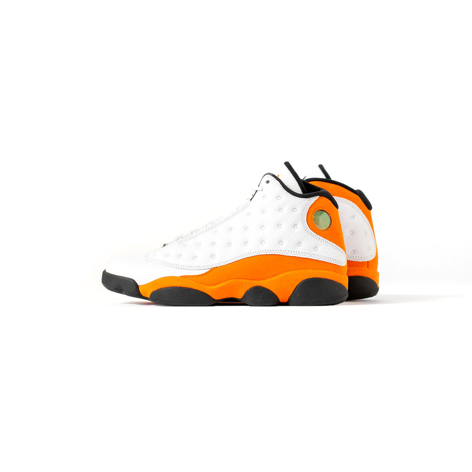 Air Jordan 13 Retro (White/Starfish-Black) - Jordan