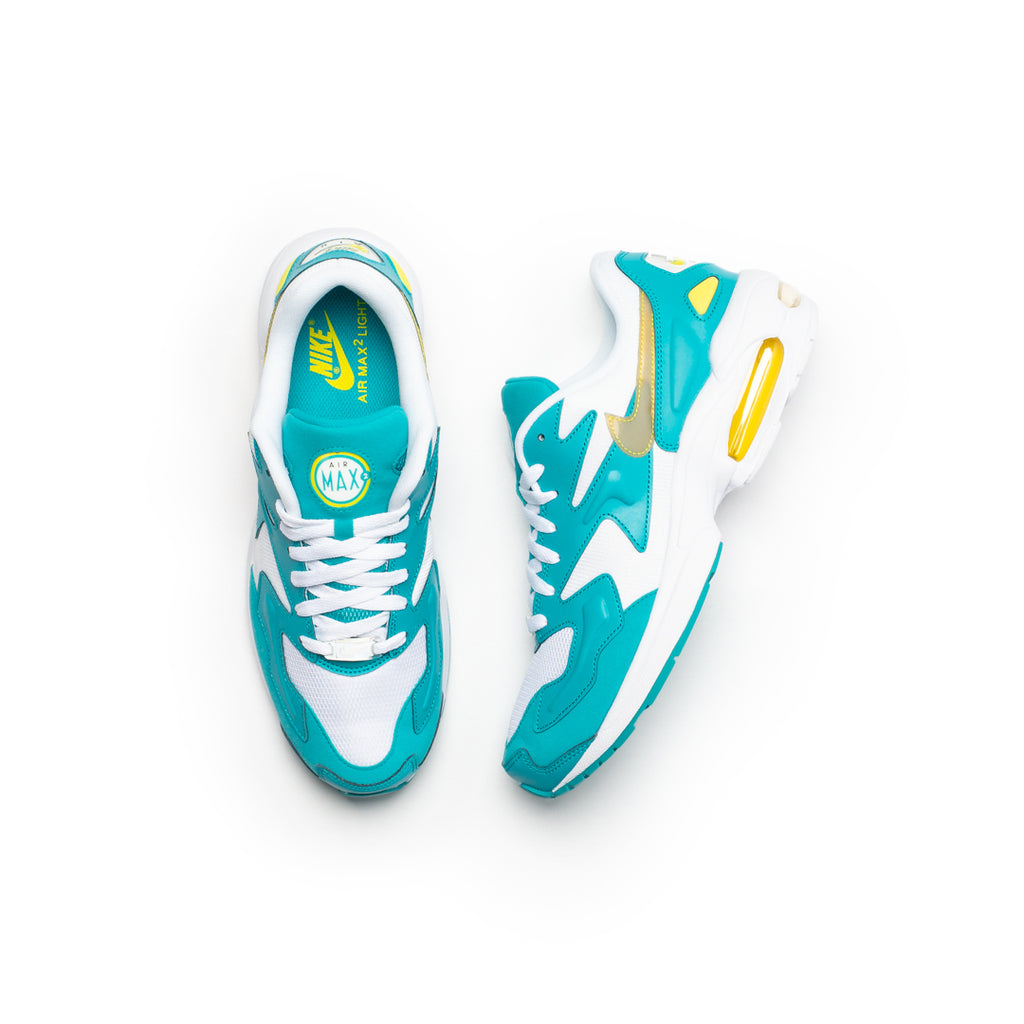 Nike Air Max 2 Light (White/Dynamic Yellow/Teal Nebula)