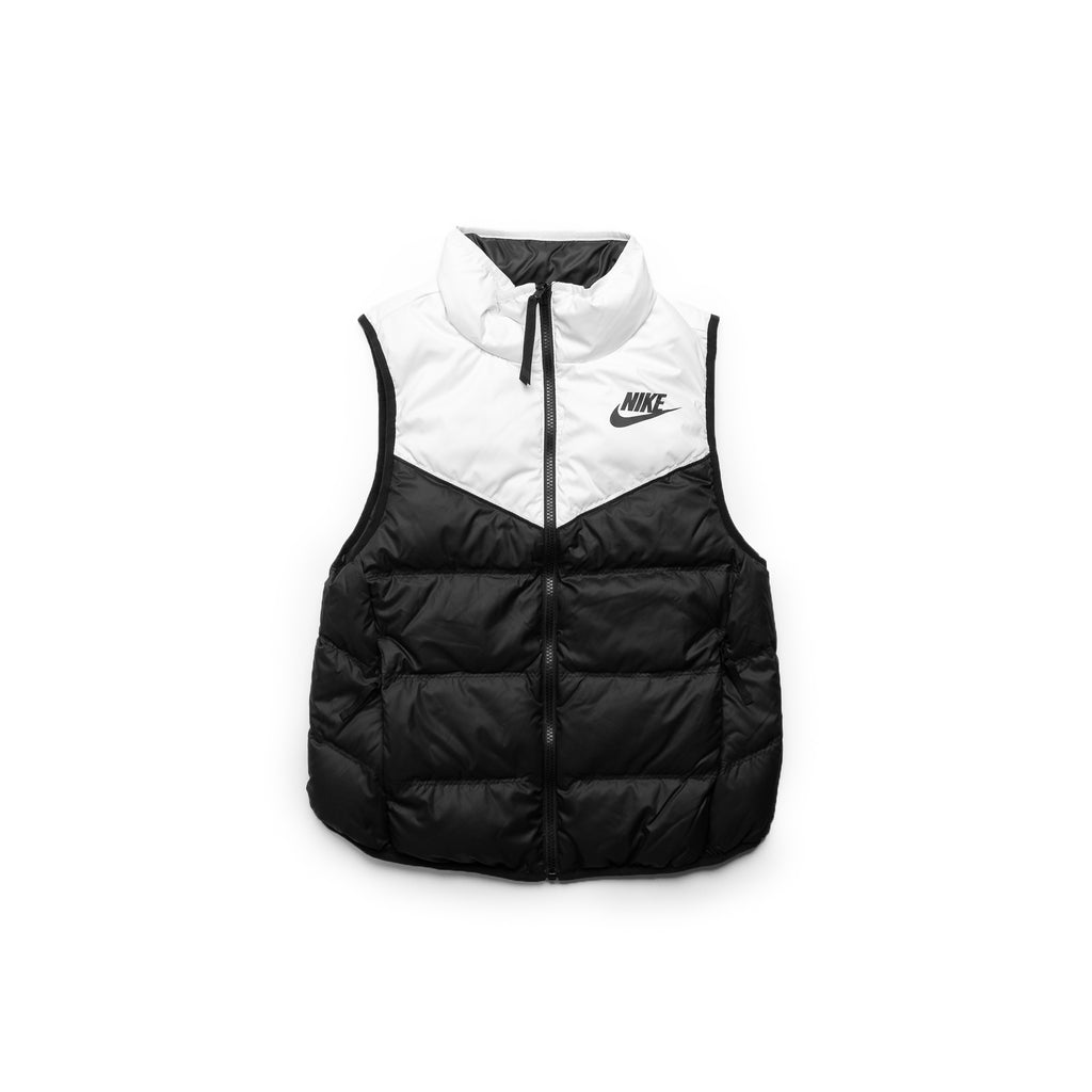 Nike Women's Sportswear Reversible Windrunner Vest (White/Black)