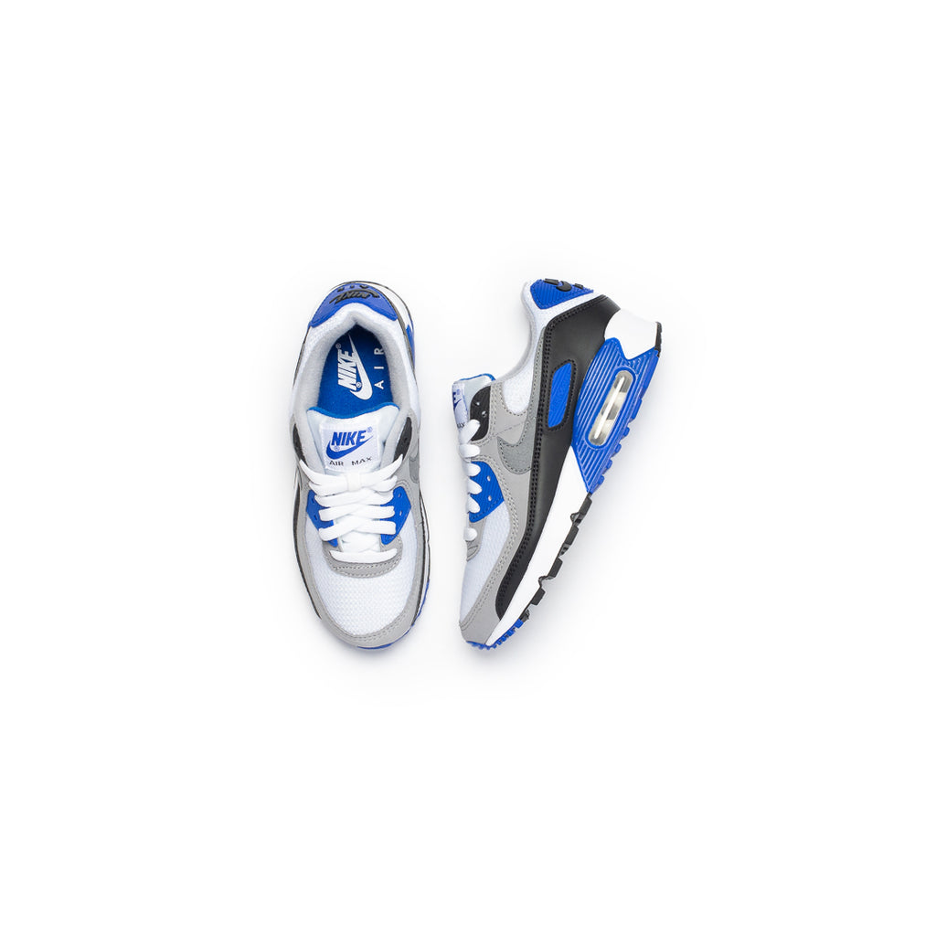 Nike Women's Air Max 90 (White/Particle Grey/Hyper Royal)