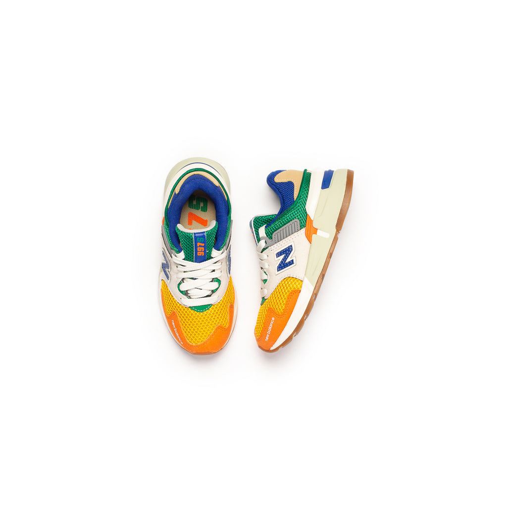 New Balance Kid's 997 Sport (White/Multi)