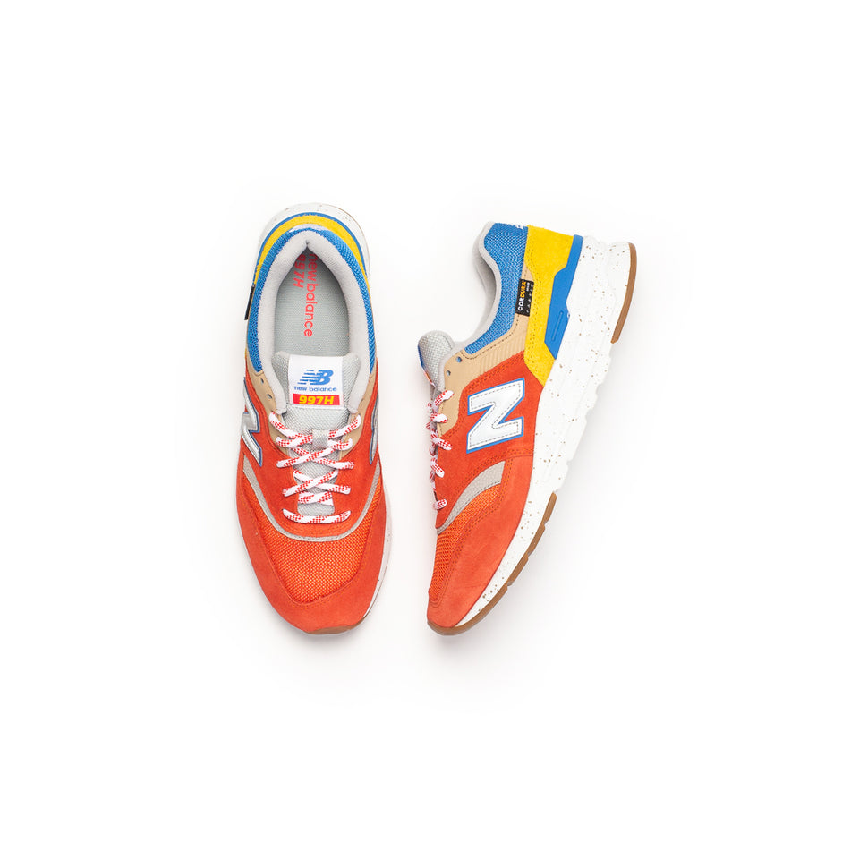 New Balance 997H (Energy Red/Atomic Yellow) - New Balance