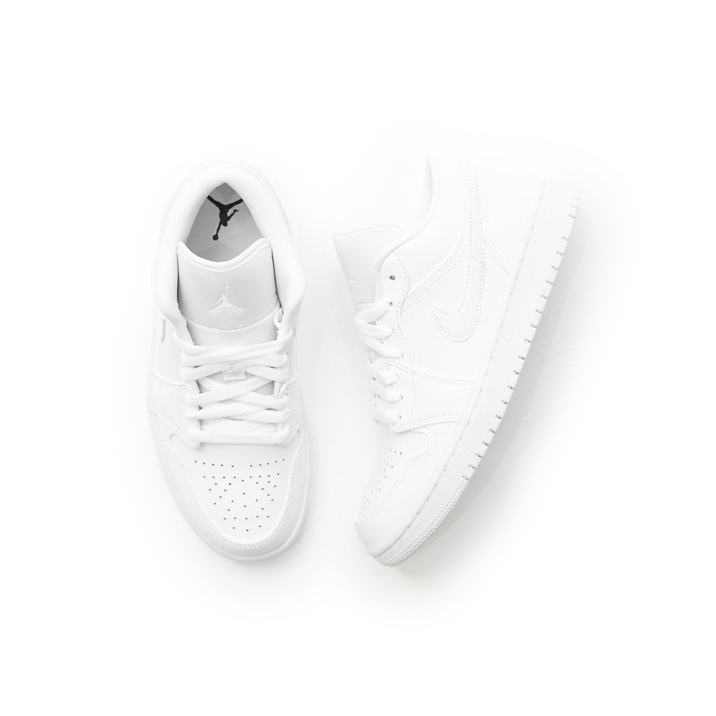 Women's Air Jordan 1 Low (White/White)