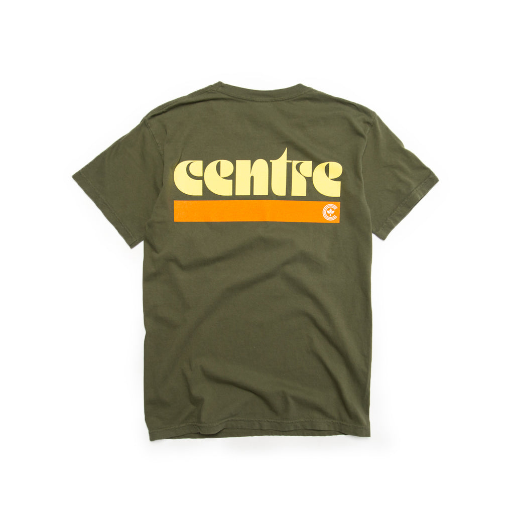 Centre Fort Worth '72 Tee (Sage/Pale Yellow/Orange)