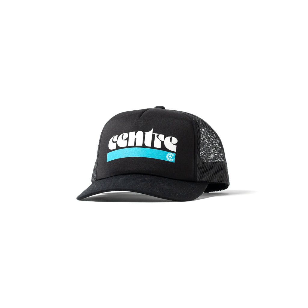 Centre '72 Trucker Hat (Black)