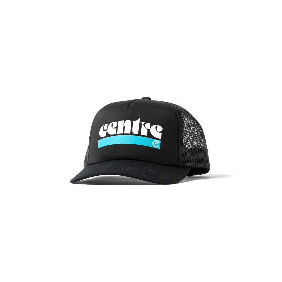 Centre '72 Trucker Hat (Black) - Centre - Accessories