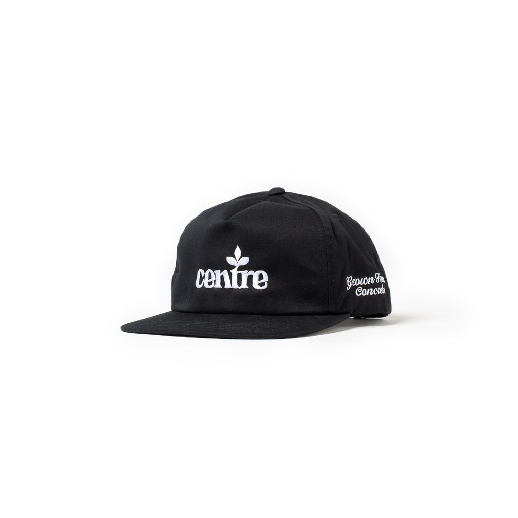 Centre Homegrown Hat (Black/White)