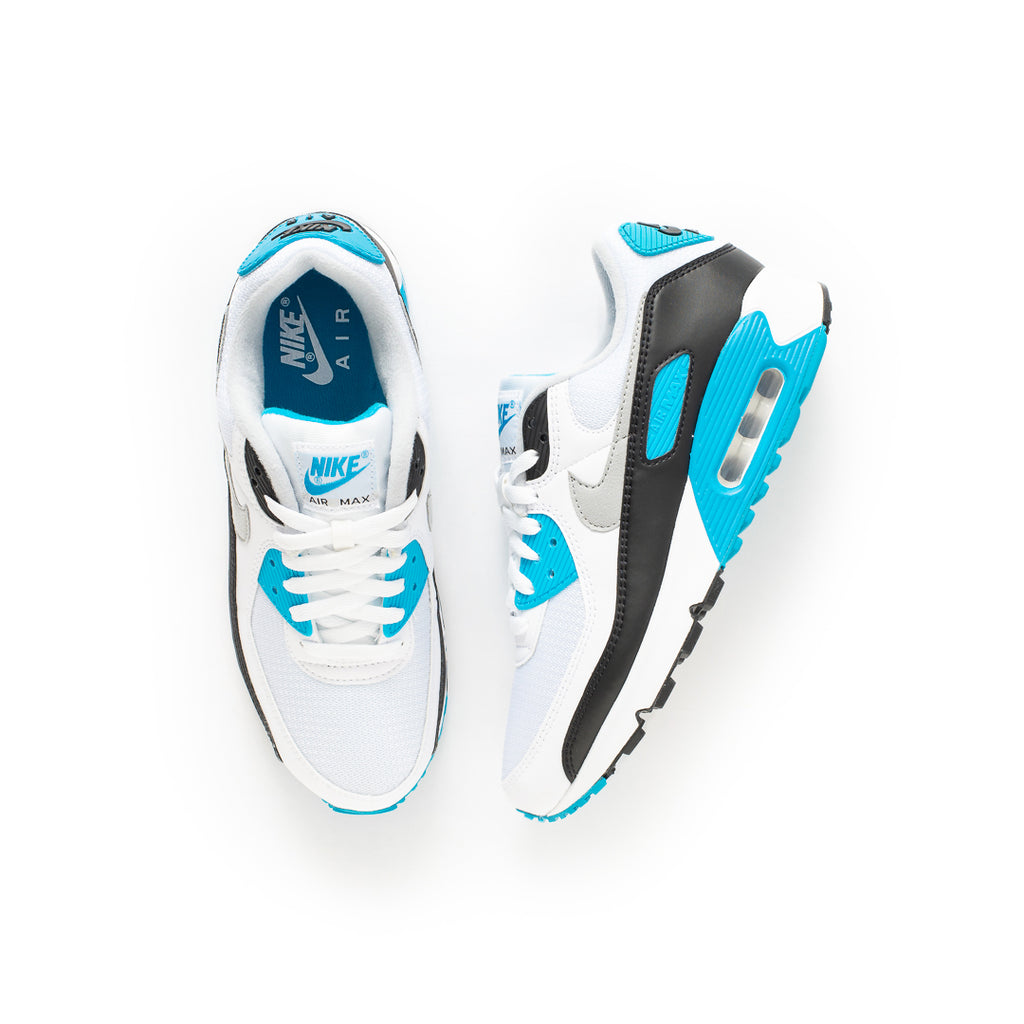 Nike Air Max III (White/Black/Grey Fog-Laser Blue)